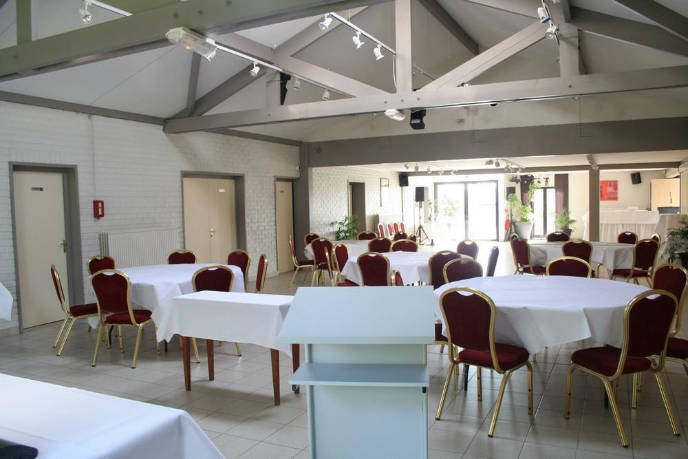 Organisation de séminaire à Lille - Salon de réception traiteur le chalet de la pépinière à Roncq